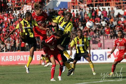 Piala Indonesia: Persiba (2) vs Perseman (0) - Firts Leg