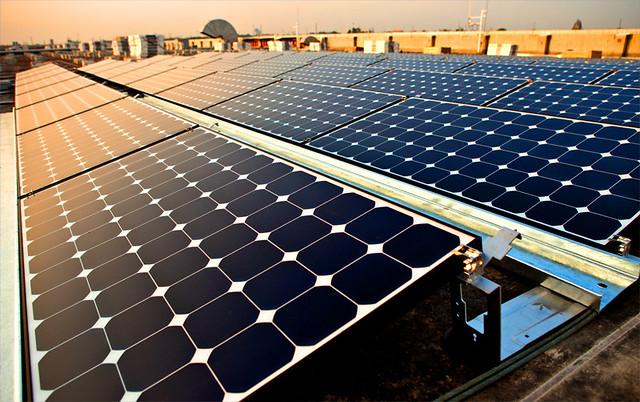 Intel Solar Installation Vietnam
