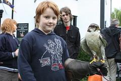 Bird wielding in Conwy