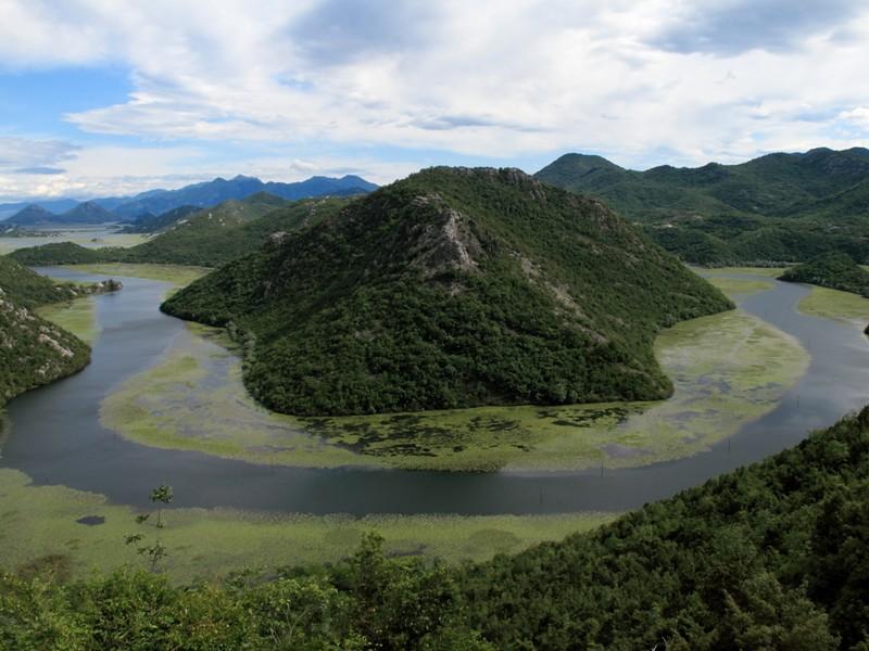Méandre de Rijeka Crnojevica