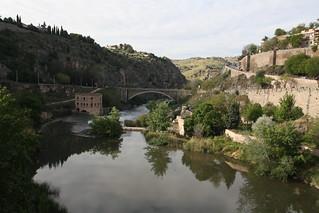 Río Tajo pasando por Toledo