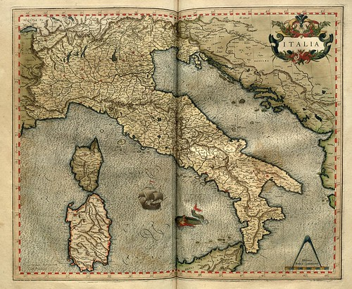 007-Italia-Atlas sive Cosmographicae meditationes de fabrica mvndi et fabricati figvra 1595- Mercator- library of Congress