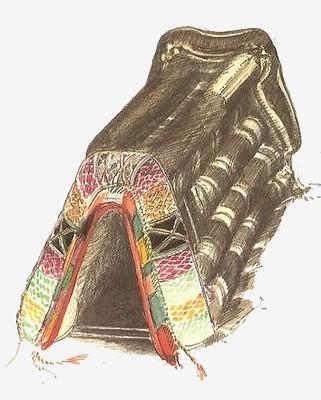 selle d'âne marocaine