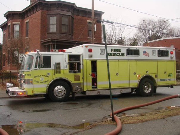 Vails Gate Fd Working As Rit Team In The City Of Newburgh