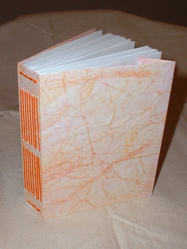 little orange handmade book 2