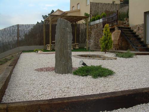Detalle de diseño de jardines
