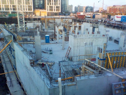 Condo site under construction, lower Bathurst Street (1)