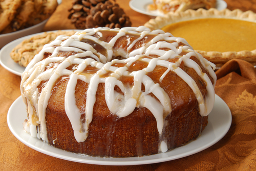 pumpkin pound cake