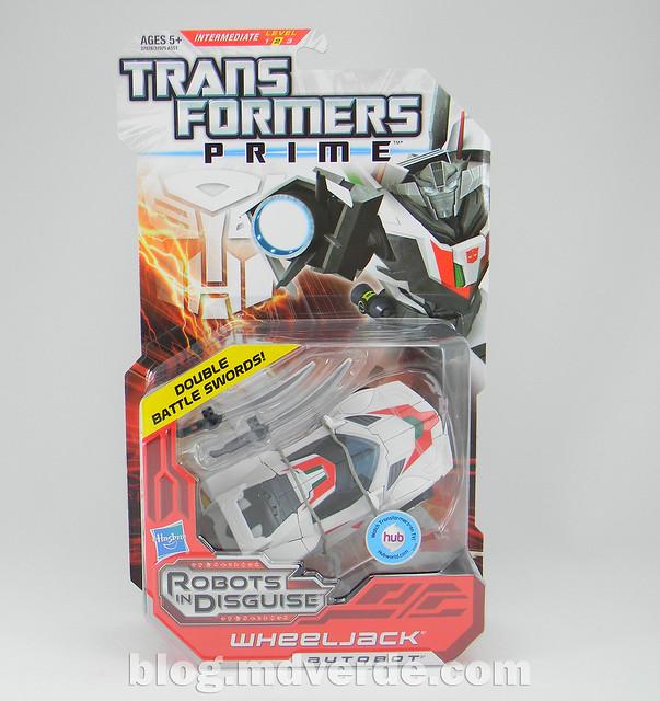 Transformers Wheeljack - Prime RID - caja