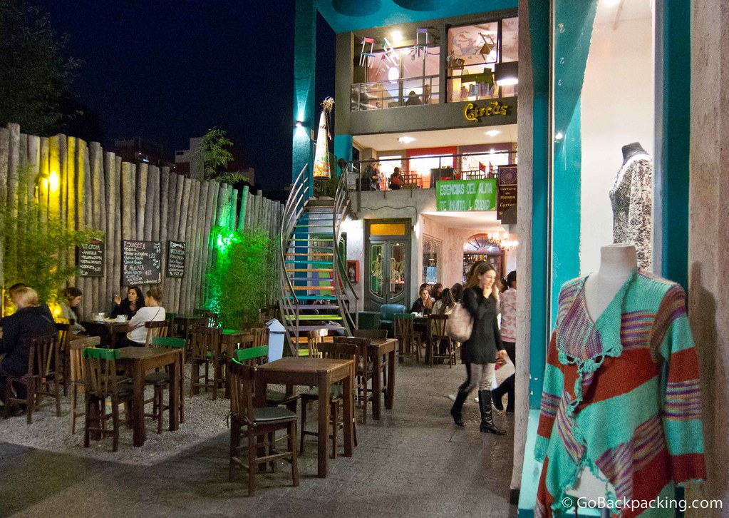Lots of little outdoor cafes, shops, and art galleries are waiting to be discovered