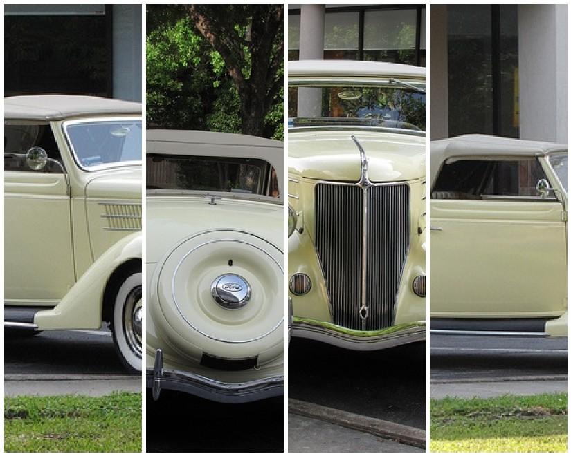 Classic Car Mosaic