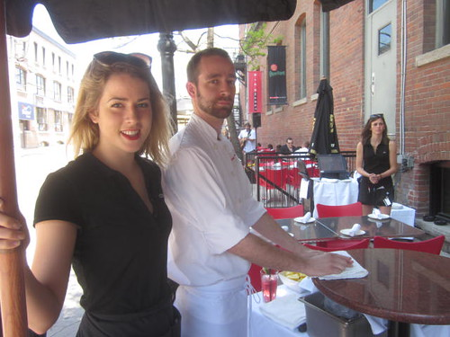 oyster shucking station, Bier Markt, King St, patio, Summer Luvin