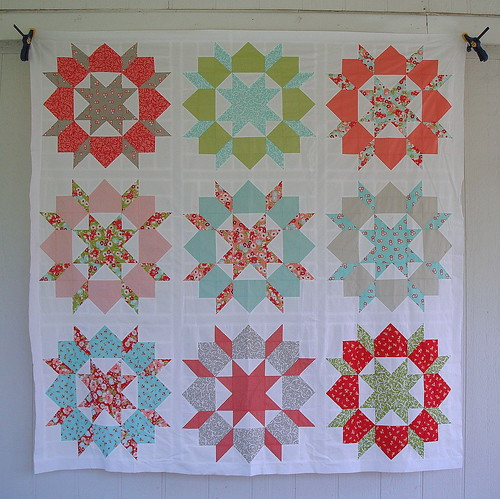 Swoon Quilt Top by jenniferworthen