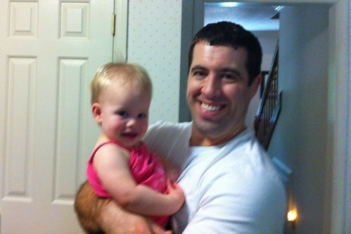 Lucy & her uncle Chris