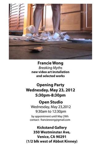 Francie Wong at The Kickstand Gallery