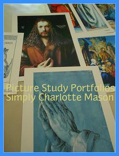 Picture Study Porfolios button