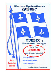 Quebec Numismatic Catalogue