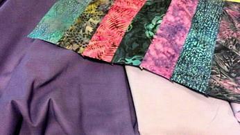 Purple fabrics sm