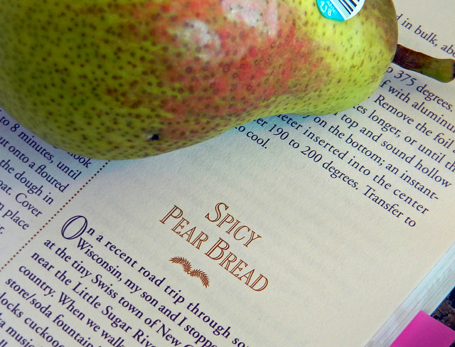 Spicy Pear Bread Recipe