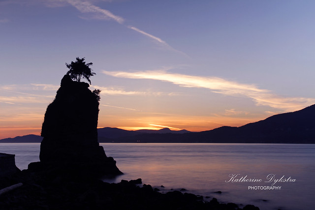 Siwash Rock at Stanley Park [Explored]