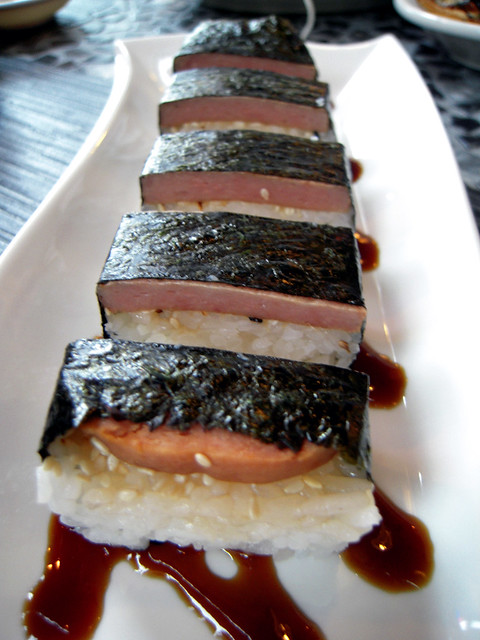 Spam Sushi Roll
