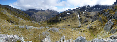 View NW from below Fohn Saddle