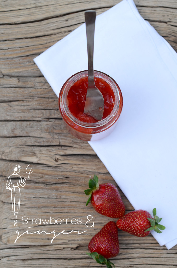 Strawberry & Ginger Marmelade