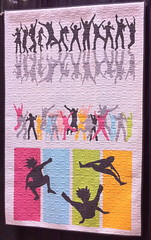 Jump For Joy~Quilt by Tracey Pereira