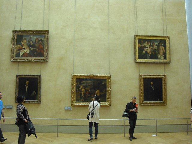 Mona Lisa's backside