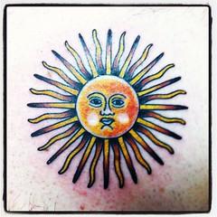 Sun of May Tattoo