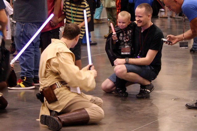 Phoenix Comicon - Young Sith Lord