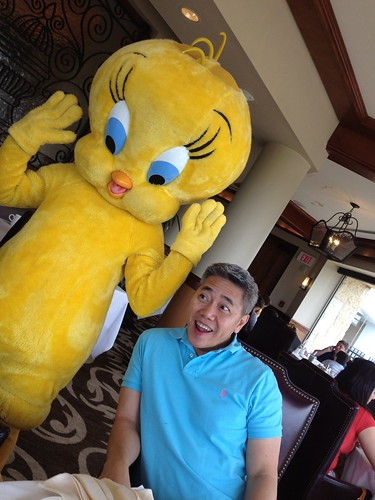 With tweety