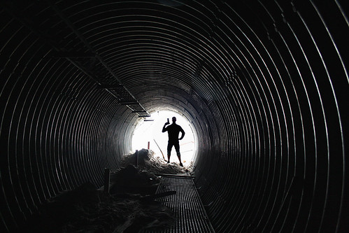 the man in the tunnel