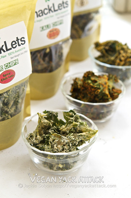 Review: snackLets Kale Chips!