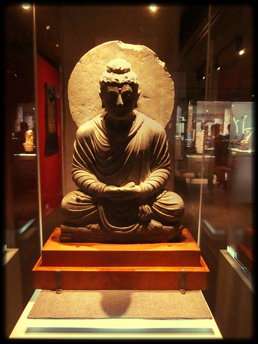 Buddha from the Visions of Enlightenment exhibit