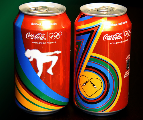 2012-London-Olympics-Coca-Cola-Brazil-first-two-cans by roitberg