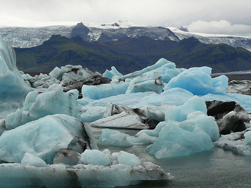 Jökulsárlón – ledová islandská kráska