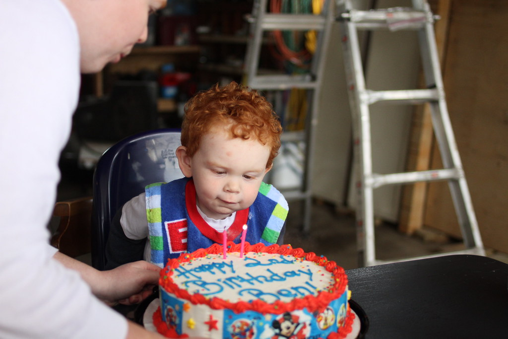 Ben's 2nd Birthday
