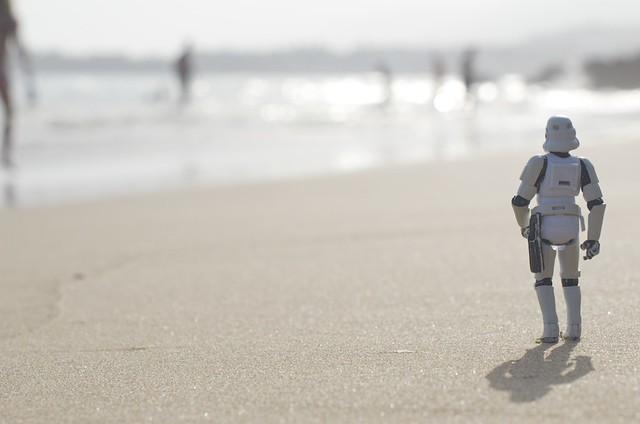 The beach voyeur