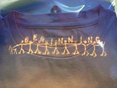 はじまりのTシャツ