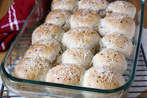cheesy rolls.