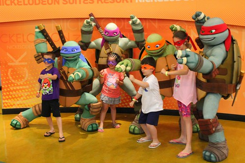 Teenage Mutant Ninja Turtles at Nick Hotel
