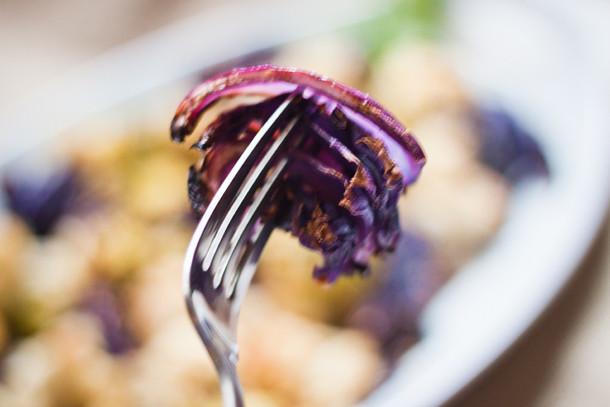tricolor cauli with purple cabbage 2