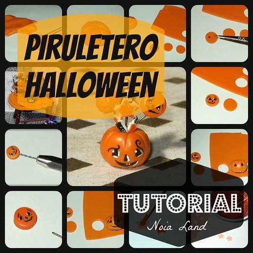 Tutorial. Piruletero halloween