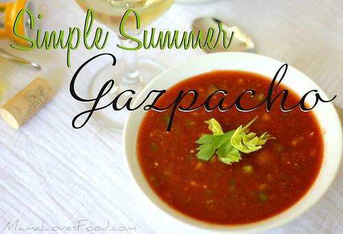 Simple Summer Gazpacho