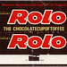 UK - Mackintosh's - Rolo - 4p chocolate candy wrapper - 1970's