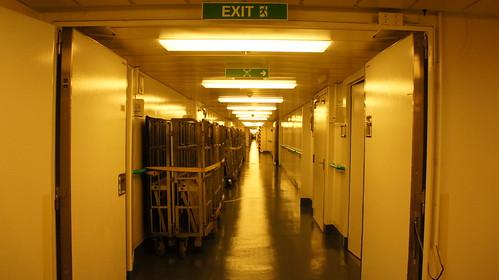 """""""I-95"""" Crew Corridor - Norwegian Jade Behind the Scenes Tour"""