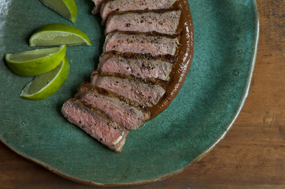 Mole Grilled Steak