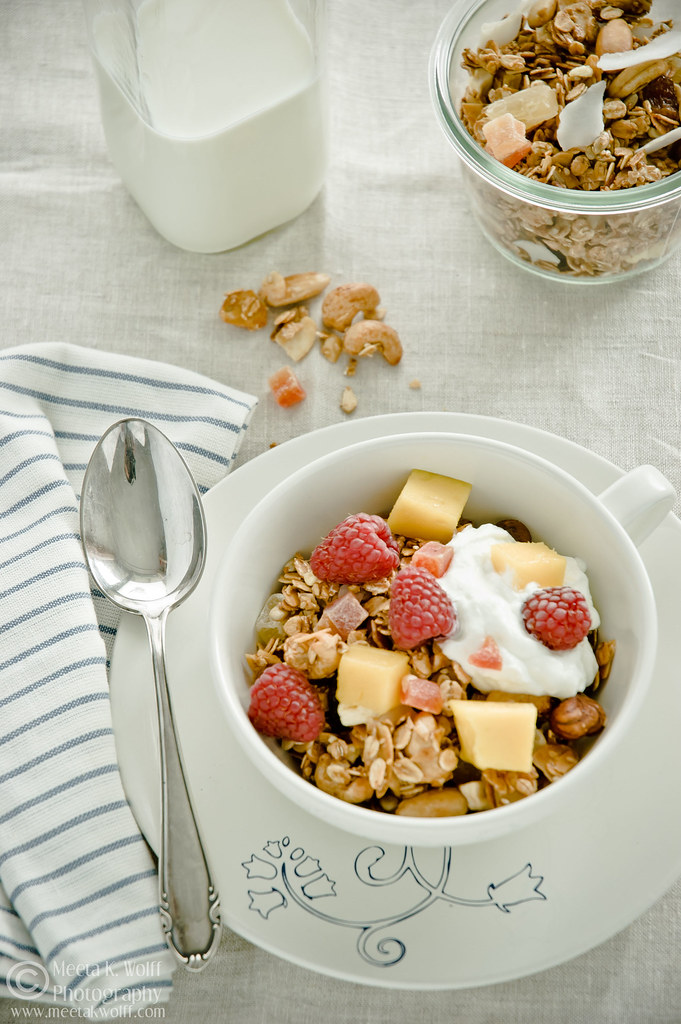 Tropical Fruit and Nut Granola (0359) by Meeta K. Wolff
