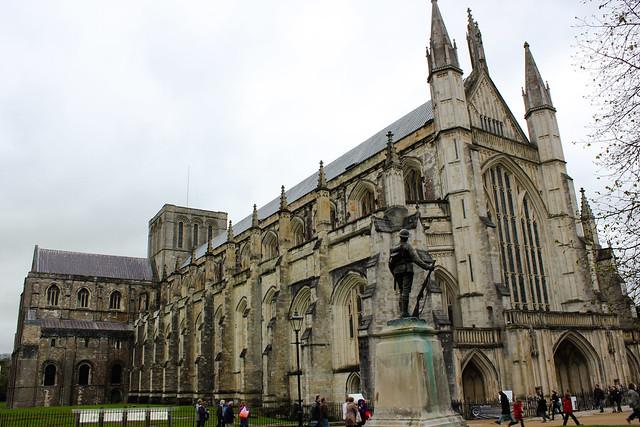 La catedral de Winchester